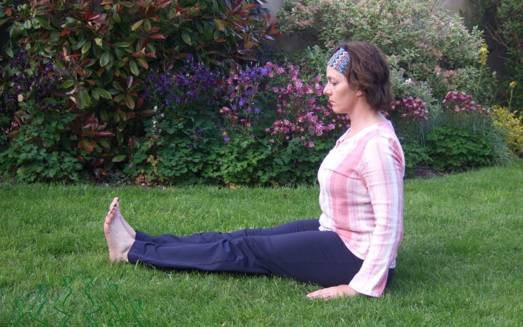 Stick Yoga Pose