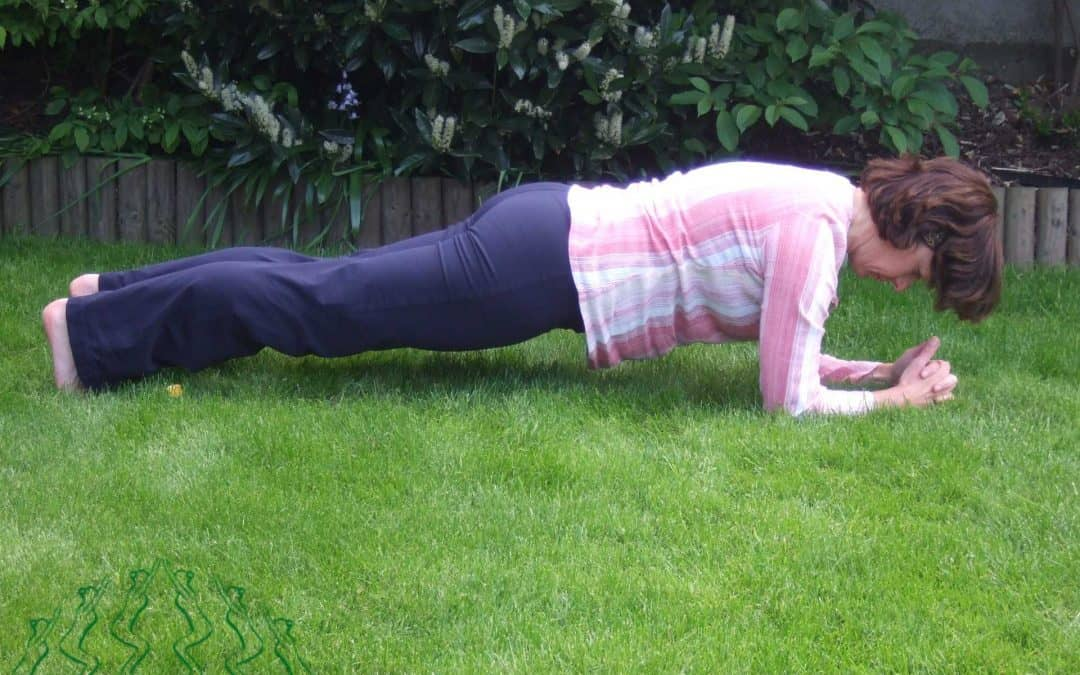 The Plank Yoga Pose
