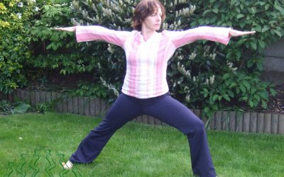 The Warrior 2 Yoga Pose