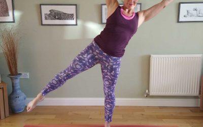 Star Yoga Pose